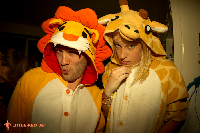 Kigu.me Animal Adult Onesies Party - Little Red Jet - Photography-12