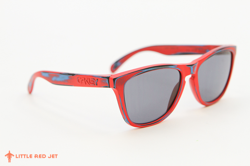 Oakley Frogskins Red