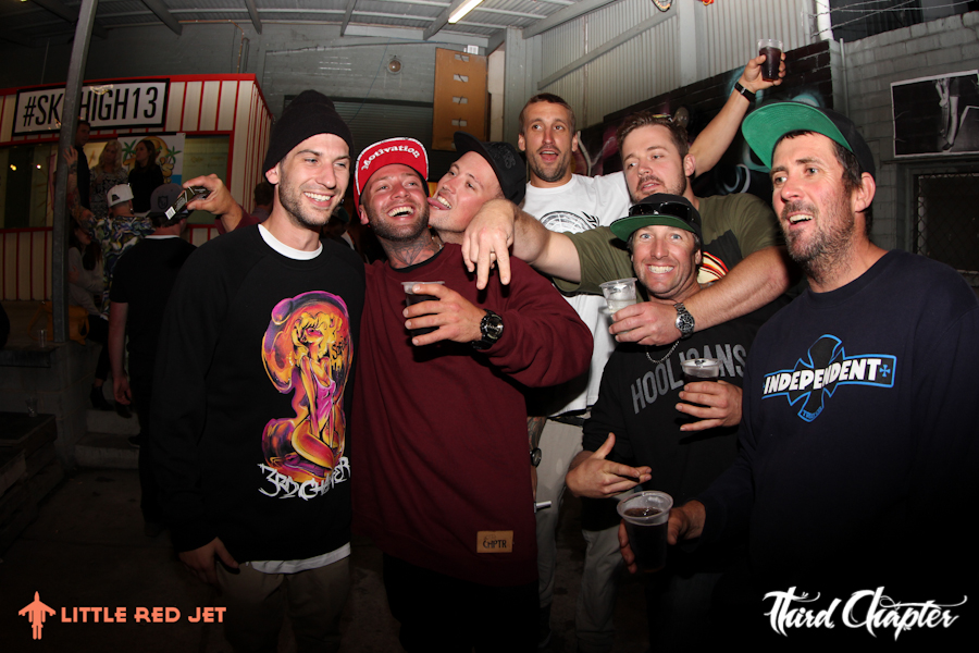 3rd Chapter - Sky High Warehouse Summer Party - Little Red Jet Photography-68