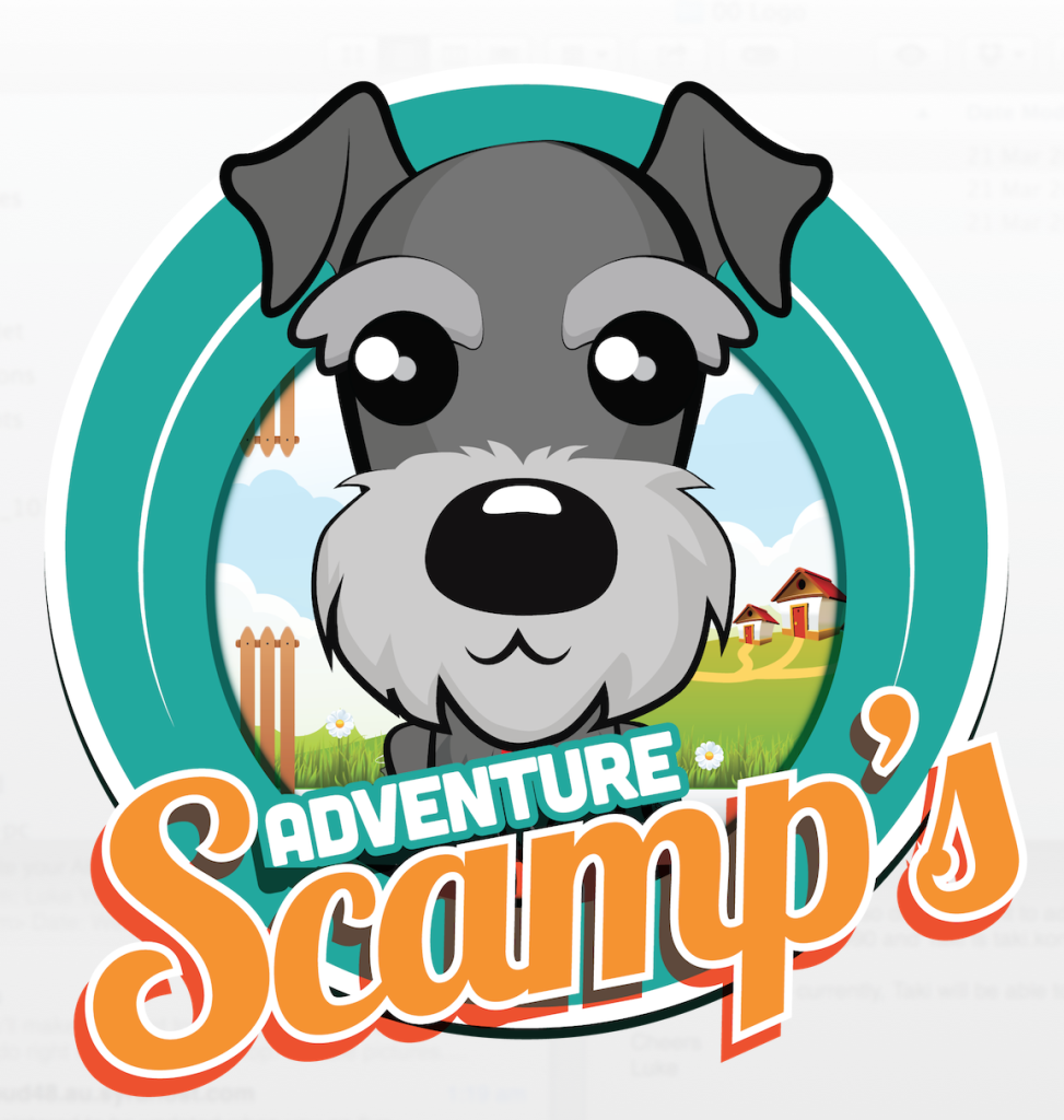 Scamp and Smudge Adventure