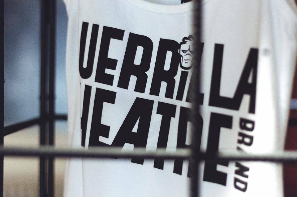 Guerrilla Theatre Brand Clothing Chapel Launch