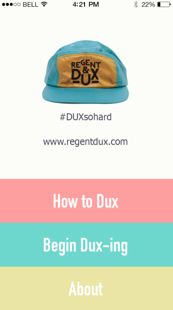 RegentDux App Parachute 5Panel HAts made to get wet