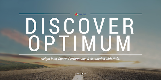 Nufit WebDevelopment Branding Marketing Website Nutrition