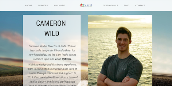 Nufit WebDevelopment Branding Marketing Website Nutrition5