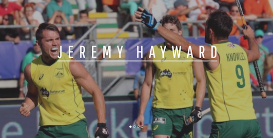 Jeremy Hawyard Hockey Player Website