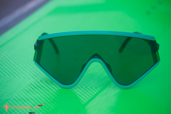 Oakley Heritage Collection Frogskins Razorblades Australia Aqua Sunnies Sunglasses Model Photography Roadtest