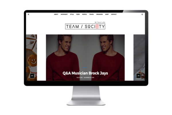 little-red-jet-template-portfolio-teamsociety